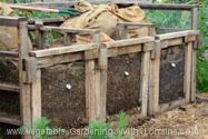 187x125 Triple homemade compost bin design