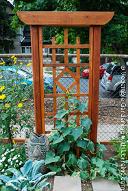 garden trellis elegant asian design - Trellis Design Ideas