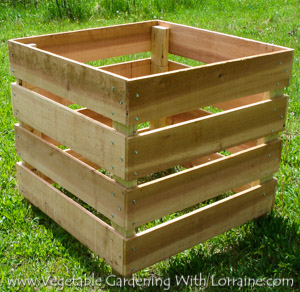 The Best Homemade Compost Bin EVER!