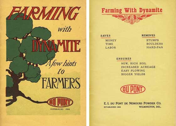 Farming with Dynamite Dupont Pamphlet