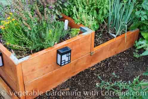 Raised bed garden designs for Corner vegetable garden ideas